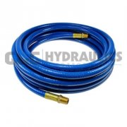 "TP6025 Coilhose Thermoplastic Hose, 3/8"" ID x 25' x 3/8"" MPT Blue UPC # 029292259033"