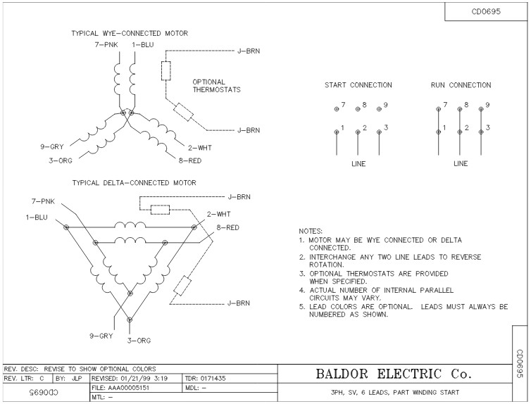 em2514t 8 baldor three phase open drip proof foot mounted 20hp 3510rpm 254t frame upc 781568119105 3 baldor dc generator wiring diagram baldor wiring diagrams baldor reliance motor wiring diagram at virtualis.co