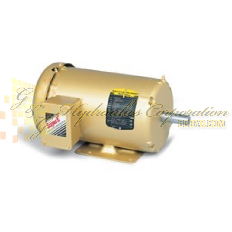 EM3554 Baldor Three Phase, Totally Enclosed, Foot Mounted 1 1/2HP, 1760RPM, 56 Frame UPC #781568295939