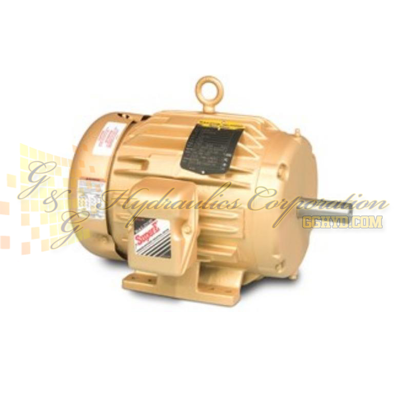 EM3663T-8 Baldor Three Phase, Totally Enclosed, Foot Mounted 5HP, 3480RPM, 184T Frame UPC #781568118108