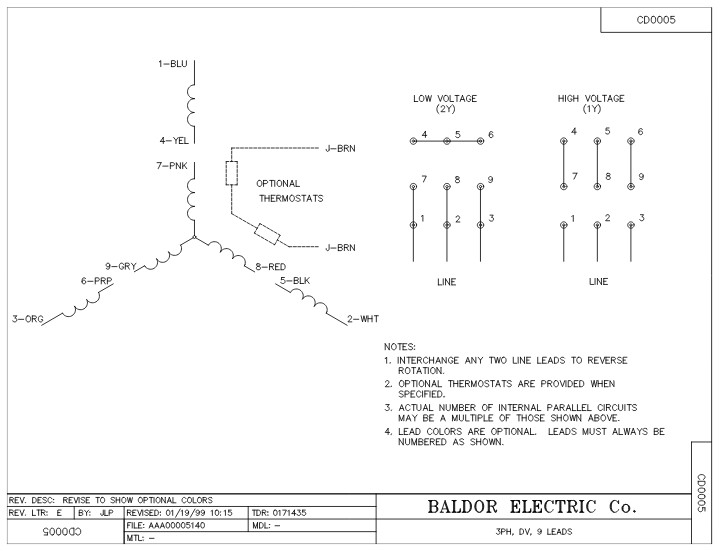 Em3663t baldor three phase totally enclosed foot mounted 5hp 3480rpm 184t frame upc 781568102558 3 sew eurodrive 208 volt wiring diagram wiring diagrams on sew eurodrive 208 volt wiring diagram