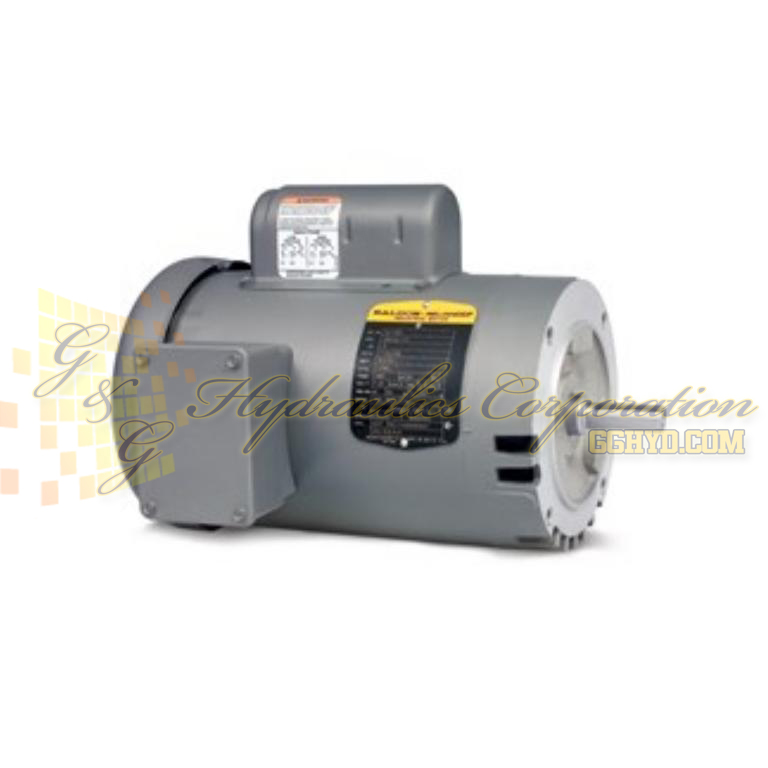 KL1205A Baldor Single Phase Open,C-Face, Footless, Drip Cover 1/3HP, 3450RPM, 56C Frame UPC #781568110713