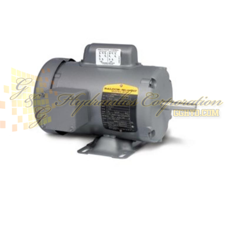 L3406M Baldor Single Phase Enclosed Foot Mounted 1/3HP, 1725RPM, 48 Frame UPC #781568100158
