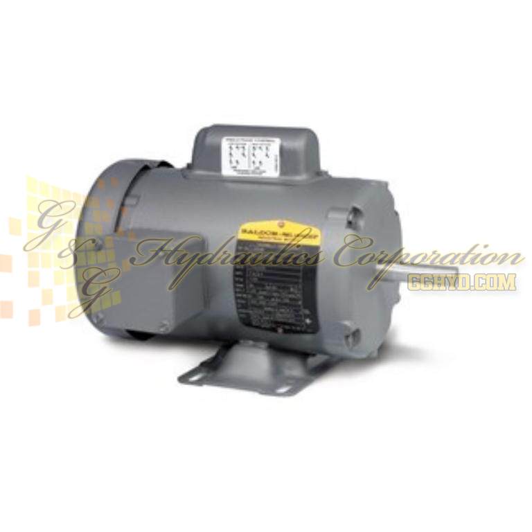 L3409 Baldor Single Phase Enclosed Foot Mounted 1/2HP, 1725RPM, 48 Frame UPC #781568100233