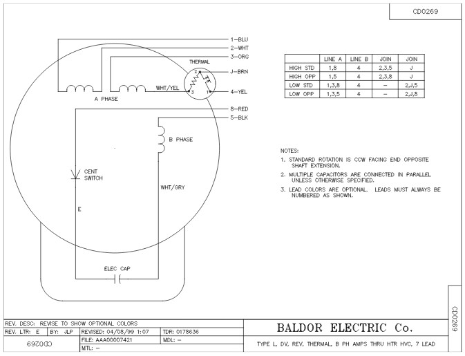 l3510m baldor single phase enclosured foot mounted 1hp 1725rpm 56 56h frame upc 781568100417 3 baldor high voltage and low voltage wiring wiring diagram simonand baldor single phase capacitor wiring at suagrazia.org
