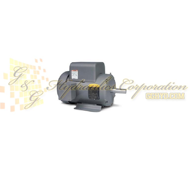 L3609T Baldor Single Phase Enclosured Foot Mounted 3HP, 1725RPM, 184T Frame UPC #781568100752