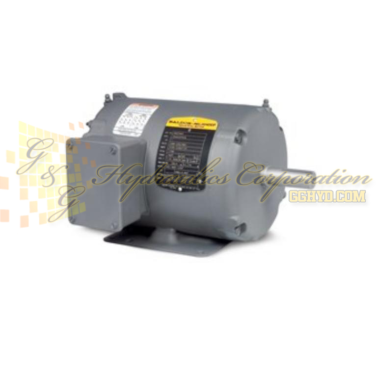 NM3534 Baldor Three Phase, Totally Enclosed, Foot Mounted 1/3HP, 1725RPM, 56 Frame UPC #781568147849
