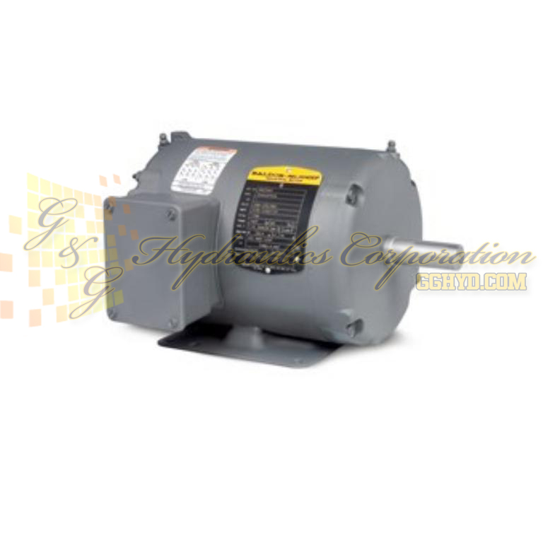 NM3539 Baldor Three Phase, Totally Enclosed, Foot Mounted 1/2HP, 1150RPM, 56 Frame, N UPC #781568503003