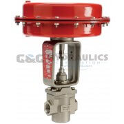 "103800 (Catalog # K01-22012000) Parker Sinclair Collins K Series, 2-Way Normally Closed, 1/2"" Process Control Valve"