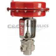 "103801 (Catalog # K01-32013000) Parker Sinclair Collins K Series, 2-Way Normally Closed, 3/4"" Process Control Valve"