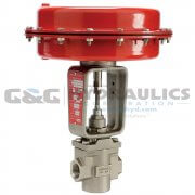 "103802 (Catalog # K01-42014000) Parker Sinclair Collins K Series 2-Way Normally Closed 1"" Process Control Valve"