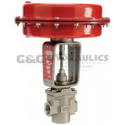 "104188 (Catalog # K21-42114000) Parker Sinclair Collins K Series, 2-Way Normally Closed, 1"" Process Control Valve"