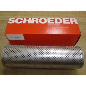Part #CC109C10 - Schroeder - CC10 9C10 Hydraulic Filter Element