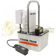 PE172M-50-220 SPX Power Team Electronic Portable 2-Way, 2-Speed Pump 2 1/2, Gallon Aluminum Reservoir UPC #662536292900