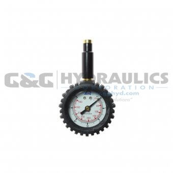 A531RB Coilhose Promo Dial Gauge with/ Boot, 0-60 lbs UPC #048232315318