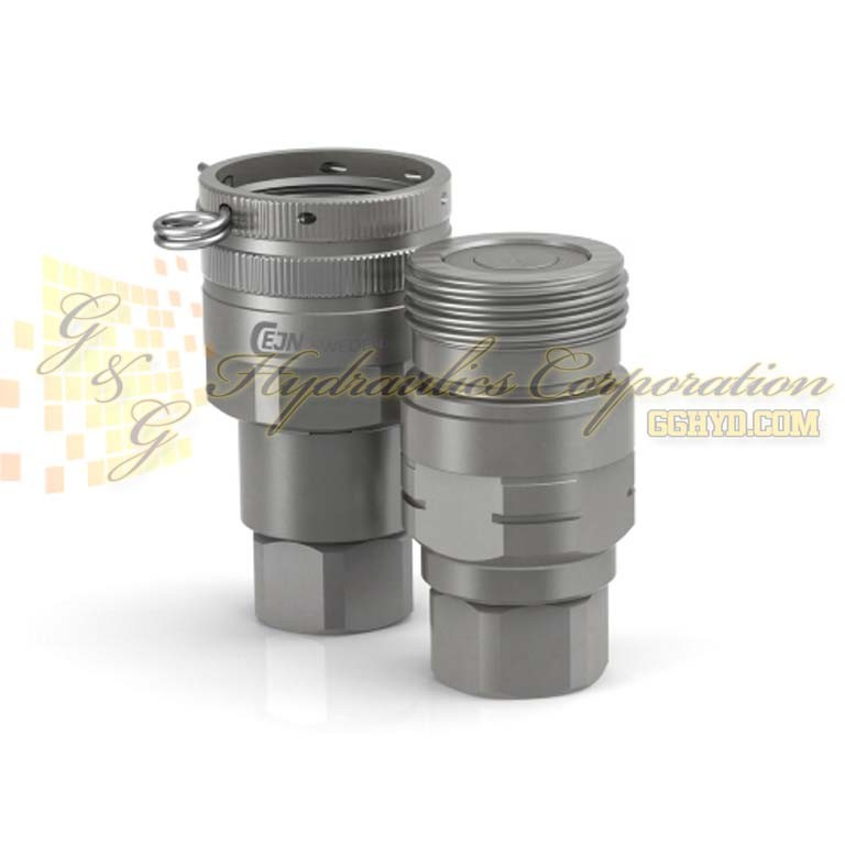 "10-807-1234 CEJN Series 807 Couplings Female Thread G 1 1/4"" JIS ORB Connection"