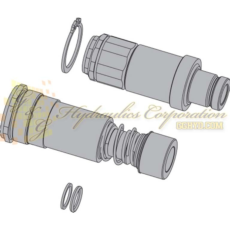 10-765-4991 CEJN Couplings AND Nipples Seal Kits For Bolts Kit DE Juntas Multi-X PUR Connection