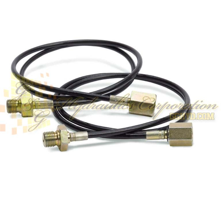 "19-356-0021 CEJN Hose Including Adapters Male - Female, 850""L, G 1/4"" Connection"