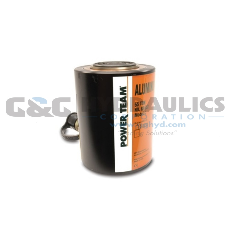 "RA304 SPX Power Team Aluminum Single Acting Cylinder, 30 Ton, 4"" Stroke UPC #662536215268"