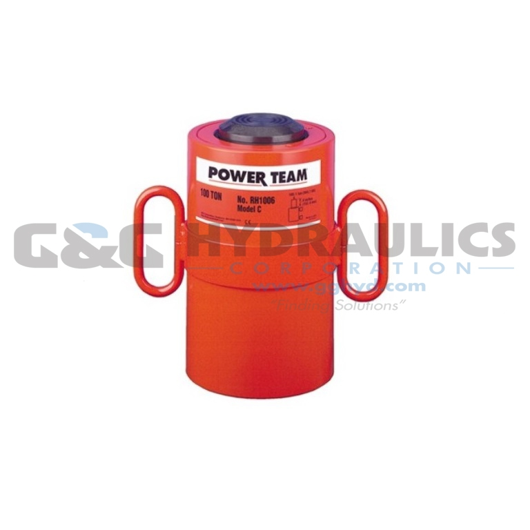 "RH303 SPX Power Team Double Acting Cycle, 30 Ton, 3"" Stroke UPC #662536003063"