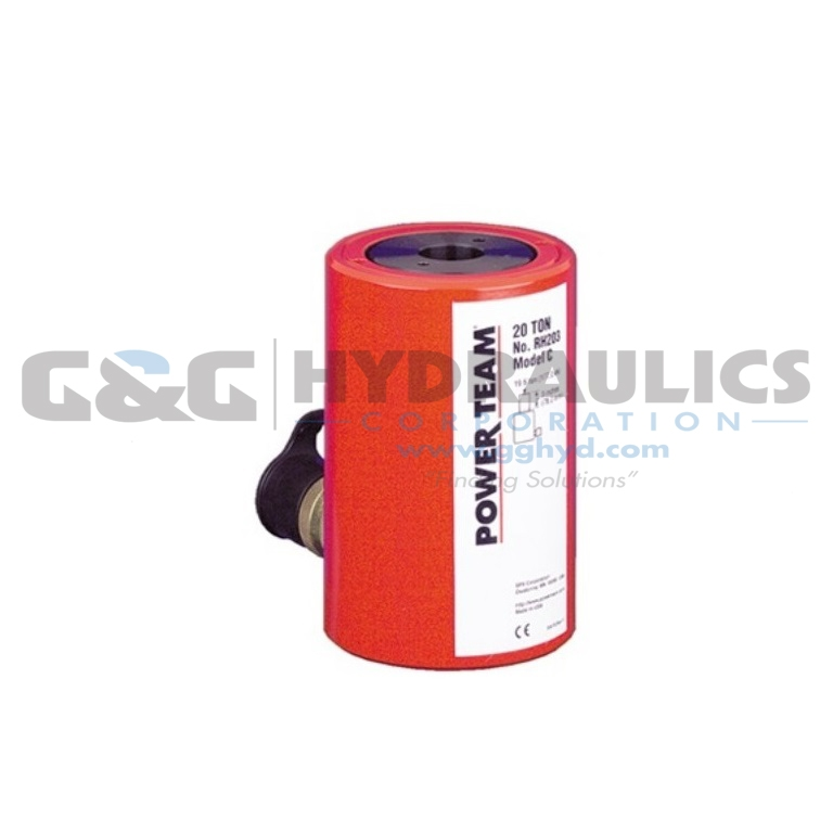 "RH306 SPX Power Team Cylinder, 30 Ton, 6"" Stroke UPC #662536132985"