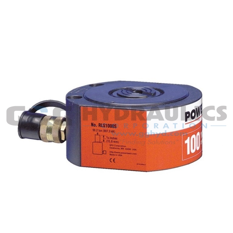 "RLS300 SPX Power Team Low Profile Single Acting Cylinder, 30 Ton, 1/2"" Stroke UPC #662536003179"
