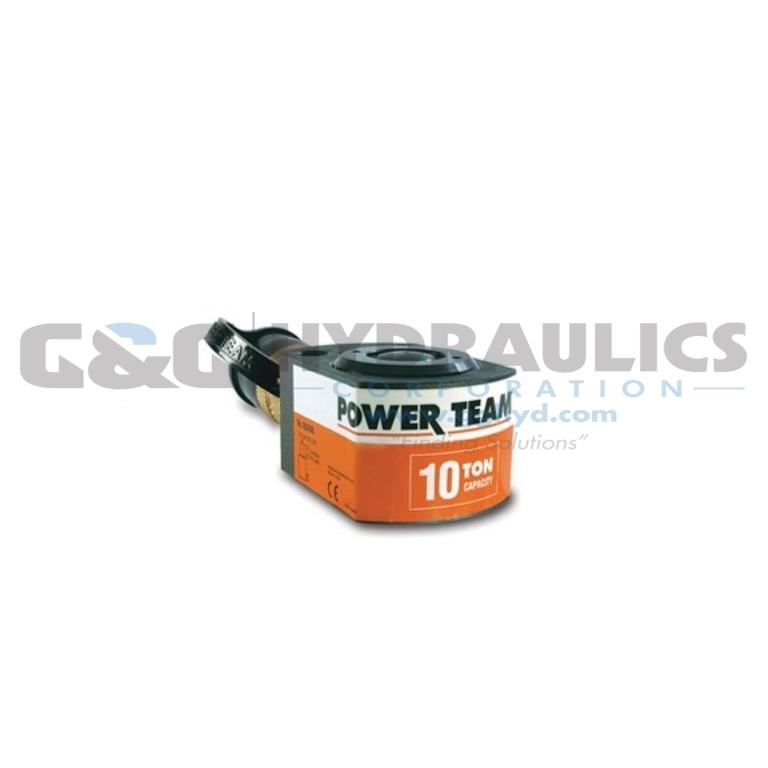 "RLS750S SPX Power Team Low Profile Single Acting Cylinder, 75 Ton, 5/8"" Stroke UPC #662536003216"