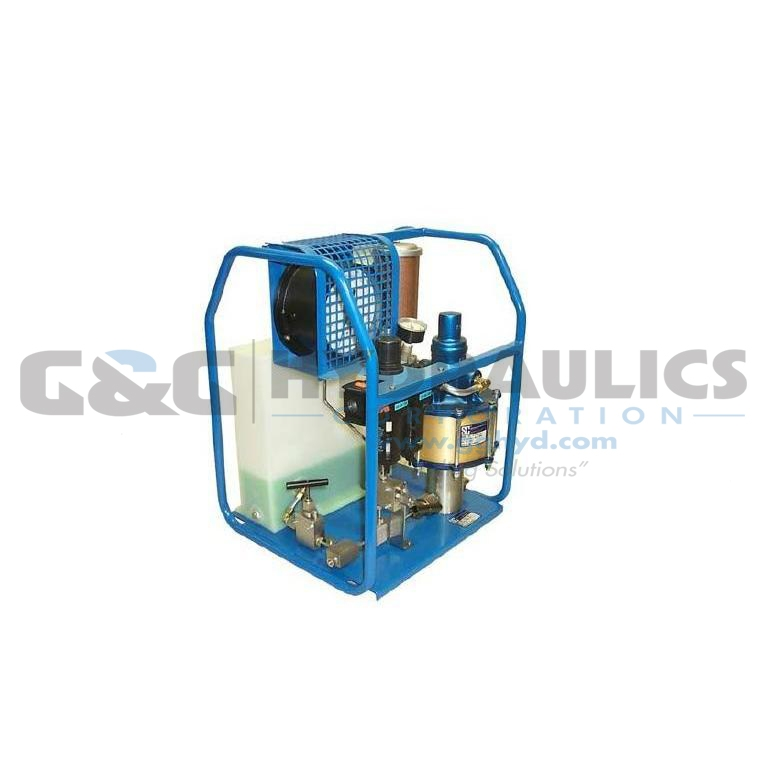 S10017-0W-100-HF4 SC Hydraulic Power Unit, Aluminum/Bronze, 10-5 Series Pump, 195:1 Ratio