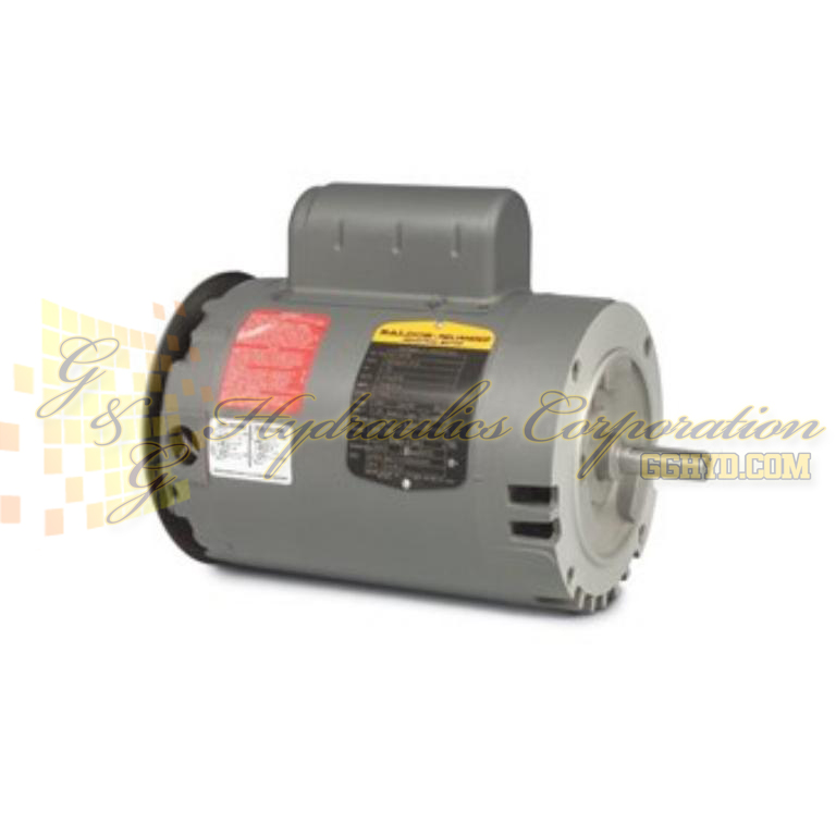 VL1318A Baldor Single Phase Open,C-Face, Footless, Drip Cover 1HP, 1725RPM, 56C Frame, N UPC #781568110867