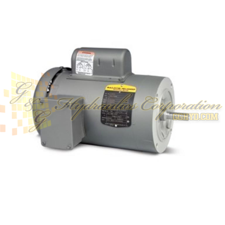 VL3501 Baldor Single Phase Enclosed C-Face, Footless, 1/3HP, 1725RPM, 56C Frame UPC #781568109014