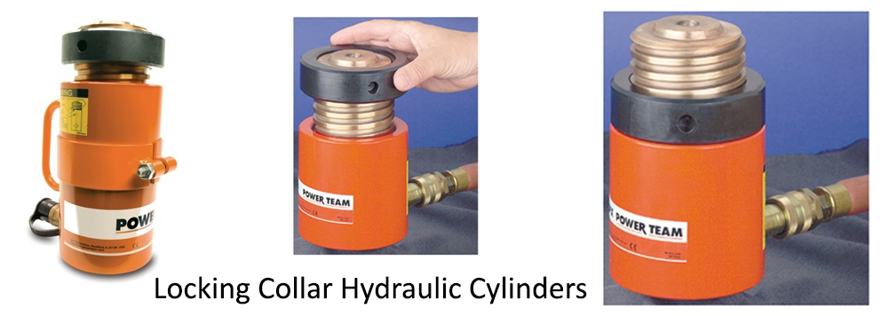 Locking Collar Hydraulic Cylinders