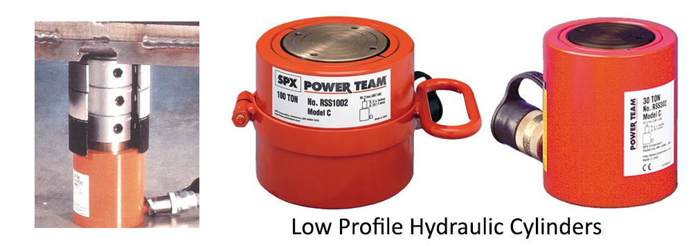 Low Profile Hydraulic Cylinders
